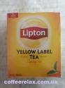 Lipton Yellow Label - чай чорный в пакетиках